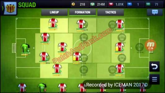 Top Eleven 2018 Patch and Cheats money, tokens