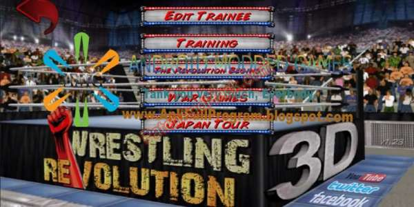 Wrestling Revolution 3D Patch and Cheats money