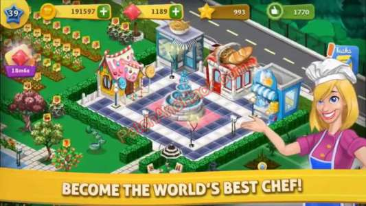 Chef Town Patch and Cheats money, crystals