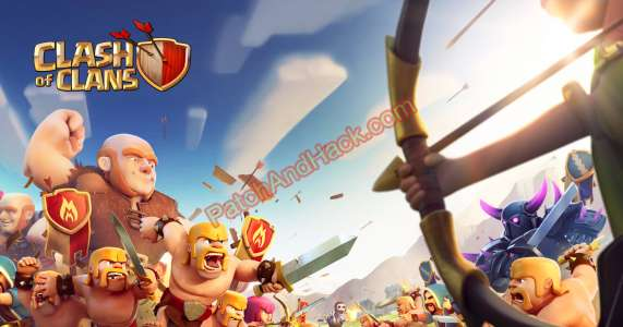 Clash of Clans Patch and Cheats gold, diamonds