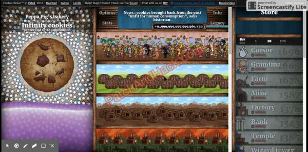Cookie Clicker Patch and Cheats cookies, money