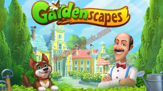 Gardenscapes Patch and Cheats coins, stars