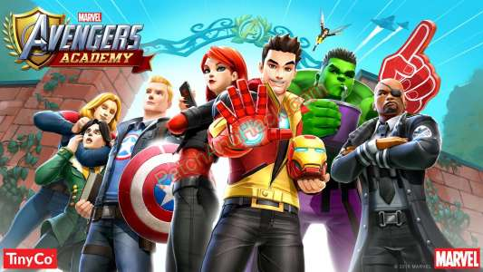MARVEL Avengers Academy Patch and Cheats coins, crystals