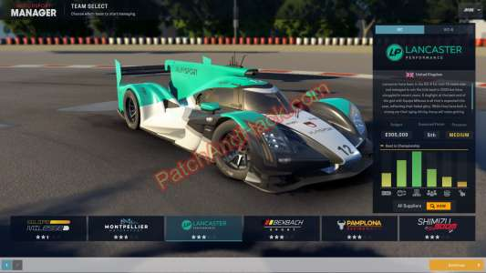 Motorsport Manager Patch and Cheats money