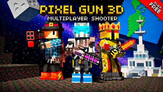 Pixel Gun 3D Patch and Cheats money,crystals