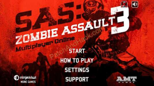 Patch for SAS: Zombie Assault 3 Cheats