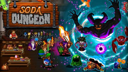 Soda Dungeon Patch and Cheats gold, crystals