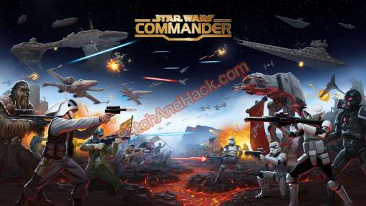 Star Wars: Commander Patch and Cheats crystals, money