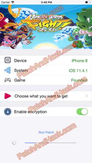 Angry Birds Fight Hack and patch