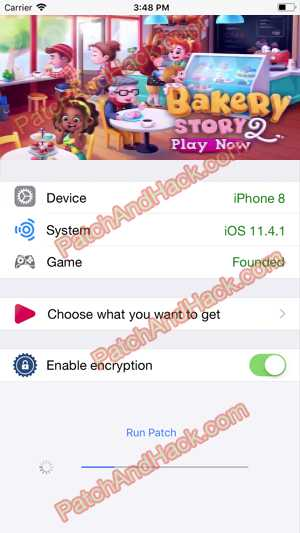 Bakery Story 2 Hack and patch