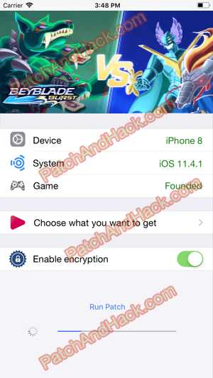 Beyblade Burst Hack and patch
