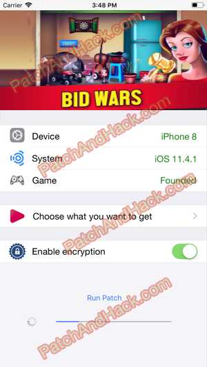 Bid Wars Hack and patch