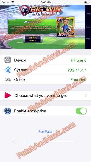 Big Win Soccer Hack and patch