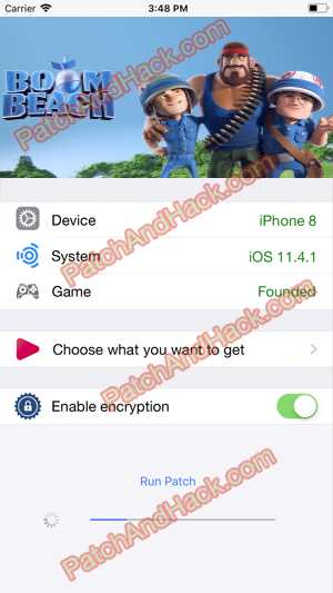 Boom Beach Hack and patch
