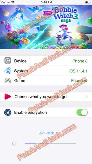 Bubble Witch 3 Saga Hack and patch