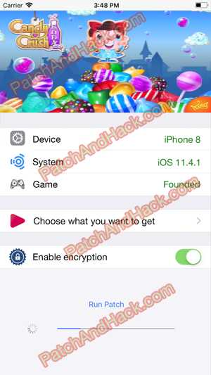 Candy Crush Saga Hack and patch