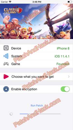 Clash of Clans Hack and patch