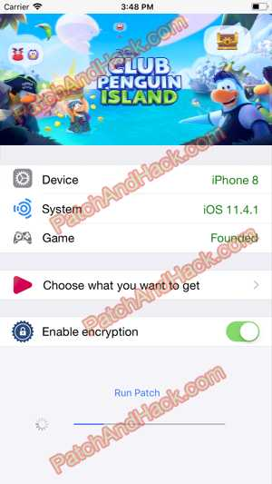 Club Penguin Island Hack and patch