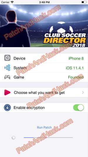 Club Soccer Director 2018 Hack and patch