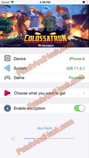 Colossatron Hack and patch