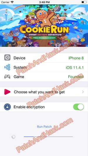Cookie Run Hack and patch