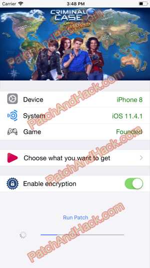 Criminal Case: Save the World Hack and patch
