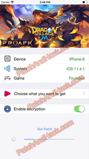 Dragon Village 2 Hack and patch