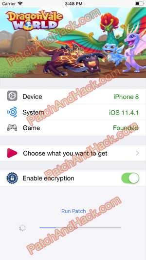 DragonVale World Hack and patch