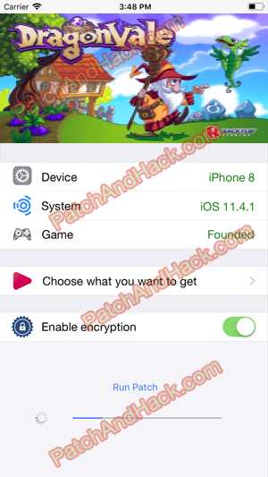 DragonVale Hack and patch