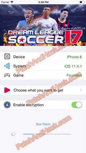 Dream League Soccer 2017 Hack and patch