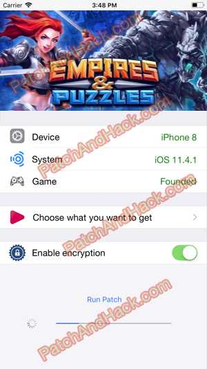 Empires and Puzzles Hack and patch