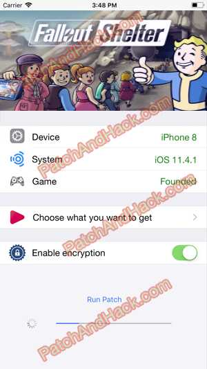 Fallout Shelter Hack and patch