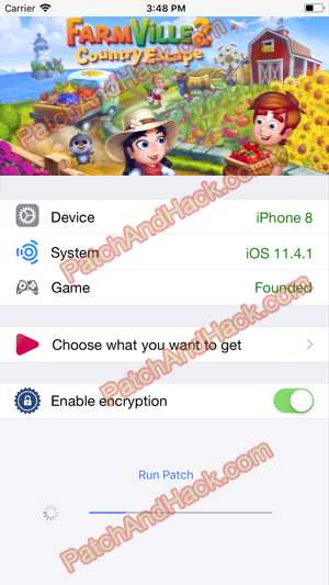 FarmVille 2: Country Escape Hack and patch