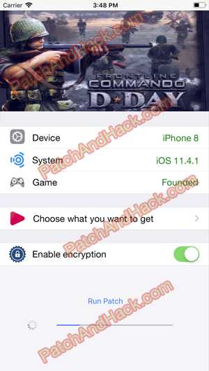 Frontline Commando: D-Day Hack and patch