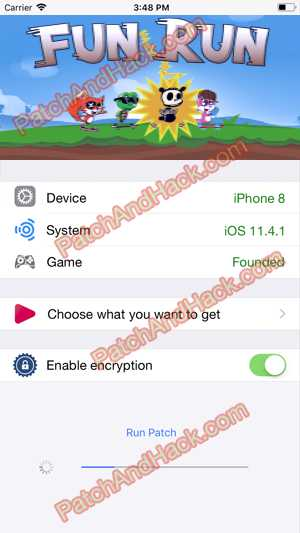 Fun Run Hack and patch