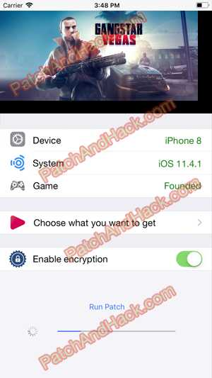 Gangstar Vegas Hack and patch