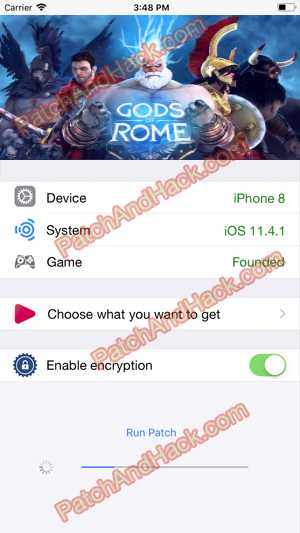 Gods of Rome Hack and patch