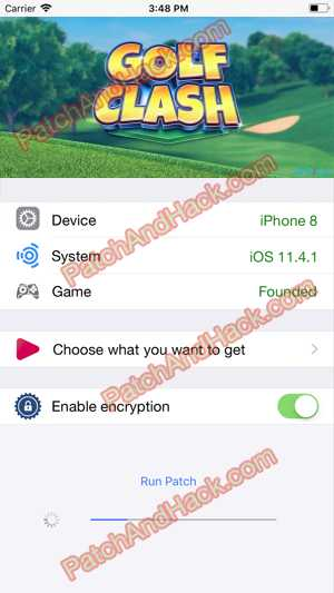 Golf Clash Hack and patch