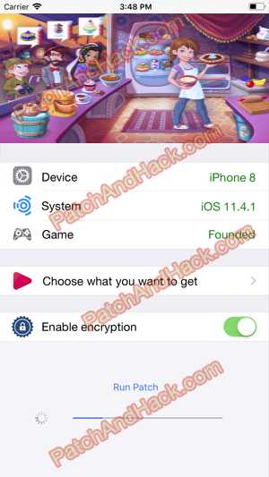 Kitchen Scramble Hack and patch