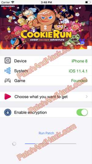 LINE Cookie Run Hack and patch