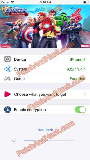 MARVEL Avengers Academy Hack and patch