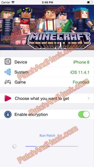 Minecraft: Story Mode Hack and patch