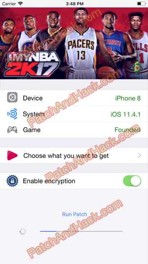 My NBA 2K17 Hack and patch