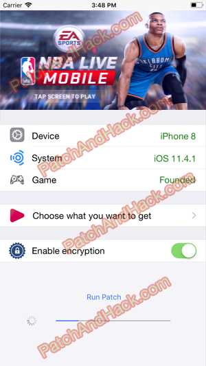 NBA LIVE Mobile Basketball Hack and patch