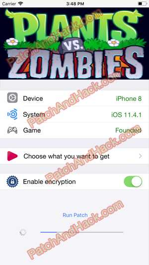 Plants vs. Zombies 2 Hack and patch