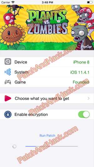 Plants vs. Zombies Hack and patch