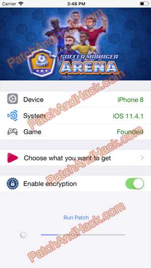 Soccer Manager Arena Hack and patch