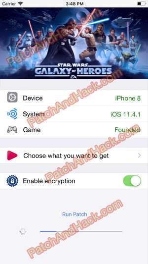 Star Wars: Galaxy of Heroes Hack and patch