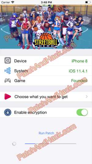 Streetball Hero Hack and patch