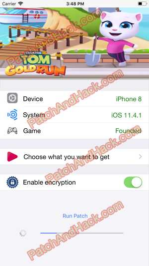Talking Tom Gold Run Hack and patch